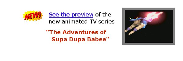 Preview the NEW Supa Dupa Babee Animated Series